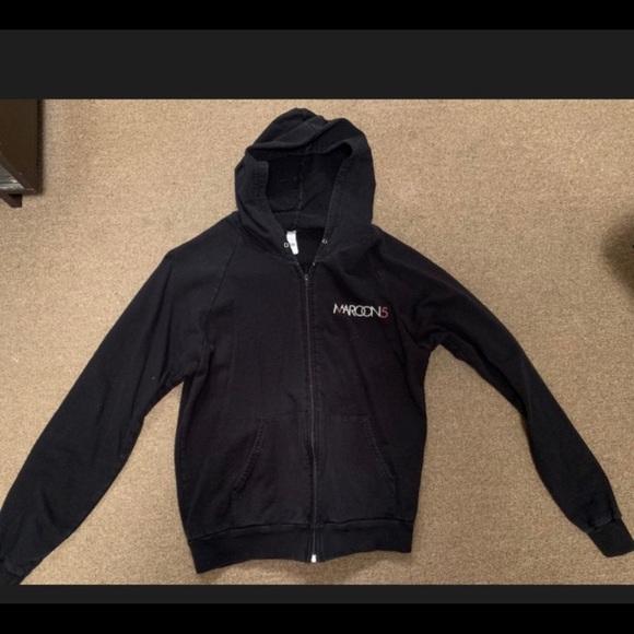 Jackets & Blazers - Women's Maroon 5 zip up jacket size Medium